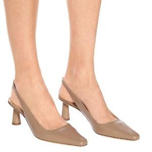 By Far slingback heels